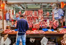 Chiński rynek mięsa - wieprzowina